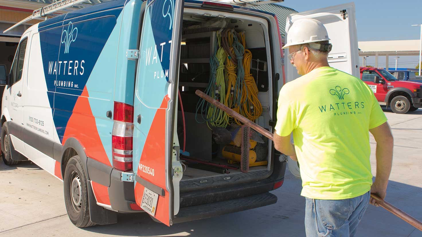 commercial plumbing services throughout Appleton, Green Bay and the Fox Valley